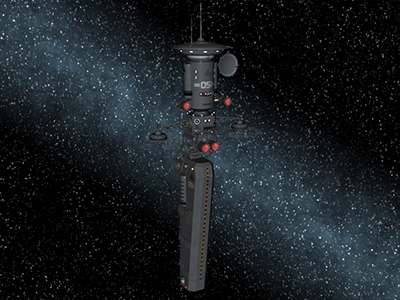 Space Intruder Detector......Fan made cgi version