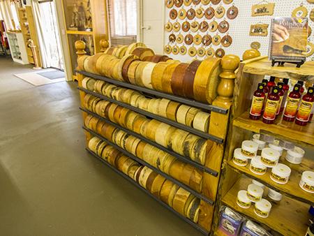 wood turning supplies